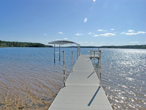 365' level sandy beach waterfront