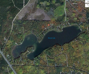 81 acres, 38' max. depth
