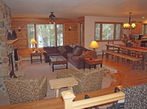 3 BR home on Cranberry Lake, Wascott, WI