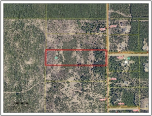 Sold 10 acre lot, 0 Blueberry Rd, Gordon, WI