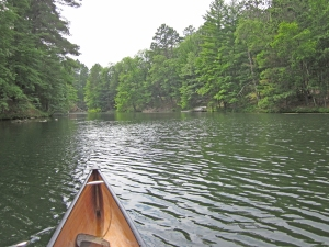 Channel between Middle and Lower Eau Claire