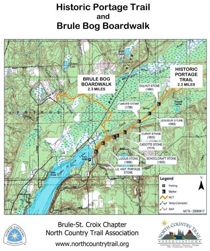 Historic Portage Trail and Brule Bog Boardwalk