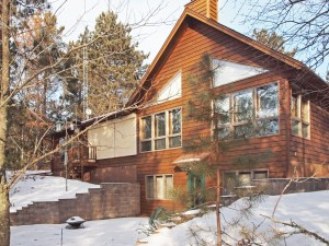 3 BR chalet on South Twin Lake, Trego, WI