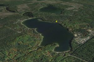 South Twin Lake aerial map