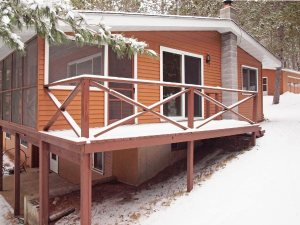 4 BR Home on Minong Flowage