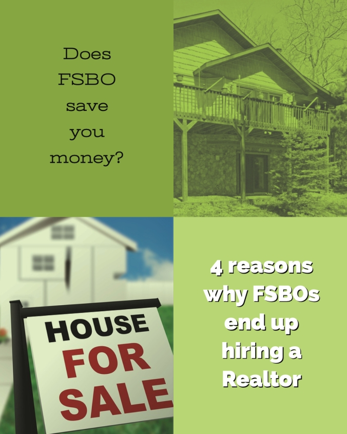 Does For Sale By Owner save you money? 4 Reasons why FSBOs